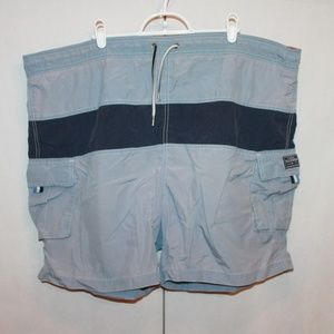 Tommy Hilfiger Men's Size XXL Blue Swim Trunks